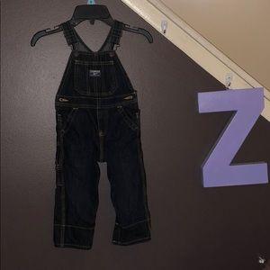 BOGO💙💙 OshKosh B'gosh blue jean overalls 18 mth